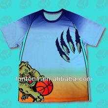 Cheap Custom Dye Sublimation T-shirt Printing