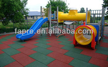 2013 NEW!!!! Interlock Playground Rubber Tile/outdoor basketball court rubber floor tile/recycled swimming rubber roofing tiles