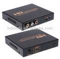 Compuesto al convertidor hdmi( la cvbs o s- la señal de vídeo + de audio(l/r) a alta definición de salida de la señal a través del convertidor de señal digital)