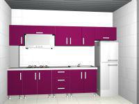 Dark pink color ambry/kithcen cabinet/cupboard/drawer /house funiture/gear/design furniture