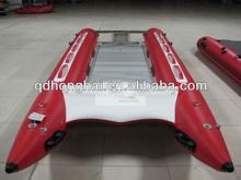PVC high speed catamaran inflatable yacht