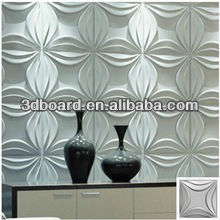 creative and environmental hot selling stereoscopic bamboo 3d wall tile