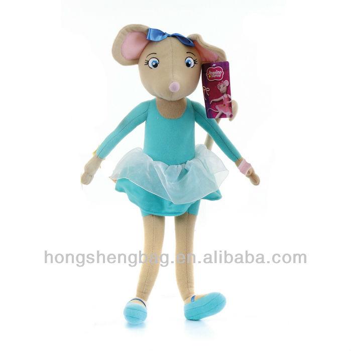 Angelina Ballerina Doll Cake Ideas and Designs