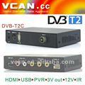 Récepteurs satellite truman dvb-t2c-258 numérique récepteur de télévision numérique mobile dvb-t2 voiture tv receiver