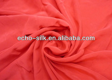 shanghai silk red brocade fabric