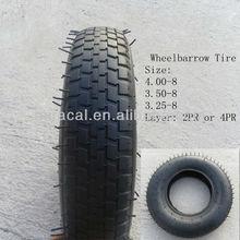 Inflatable Wheel Barrow Tire 4.80/4.00-8 and Tube