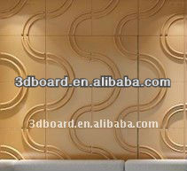 creative design stereoscopic interior decorative bamboo 3d wall tile