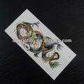 dragão colorido etiqueta do tatuagem