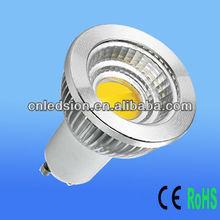 Ceramic PCB 6W 600lm MR16 GU10 COB LED Spot Light