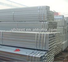 galvanized hollow section tube