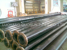 PE UHMW pipe with good anti-corrosion for transporting coal ash