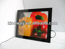 digital photo frame loop video 17'' digital photo frame HD 1280*1050 perfect home/hotel decoration