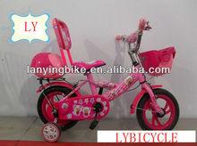 2013Hot sale baby girl chooper bike bicycle with cartoon sheep image