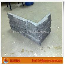 Black corner stone slate