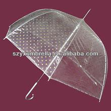 21''*8k best quality transparent pvc umbrella
