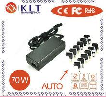 Hot sale universal laptop adapter auto 70W