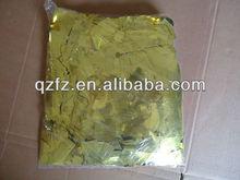 flame proof foil confetti,gold confetti,paperconfetti,