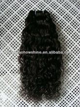 no tangle no shed curly malaysian virgin hair weft