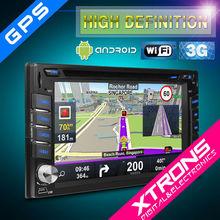 "Xtrons 6.2"" Digital touch screen 2Din Car GPS with 3G/Wifi/Navi/Bluetooh"