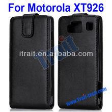 Hottest Lichee Pattern For Motorola XT926 Leather Case