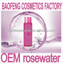 glycerin glycerine rosewater floral water toner tonic liquid beauty cosmetics factory china guangzhou OEM ODM brand creation