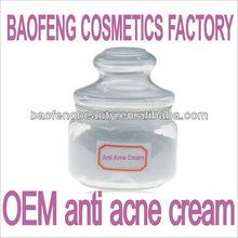 acne pimple cream lotion oil serum beauty cosmetics factory china guangzhou OEM ODM brand creation