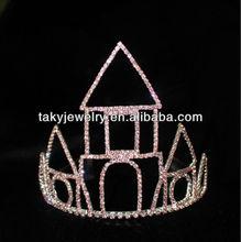 pink castle crowns