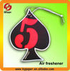Air refresher paper/car refresher card/car air refresher