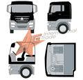 Caminhão para venda 6*4 basculante scania caminhão trator