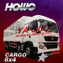 sinotruk-Howo T5 8*4 cargo truck food van