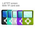 1.8 polegada todos os tipos de mp4 com slot para cartão TF