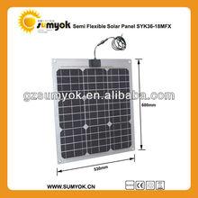 Excellent Quality monocrystalline silicon flexible solar panel