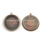 alloy jewelry findings pendant blanks