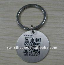 Custom military metal pet QR code ID tags wholesale