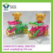 plástico tire cadena de oso de juguete del coche