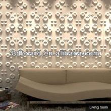 nuevo material decorativo 3d de pared de bambú decoración