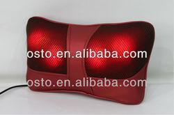 2013 new Infrared heating massage pillow