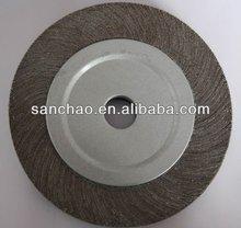 abrasive belt for glass