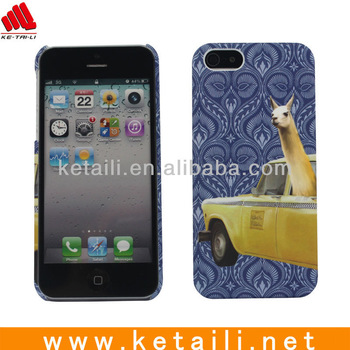 2013 New Design Mobile Phone plastic case for iphone 5
