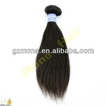 Wholesale unprocessed brazilian human hair sew in weave international nature hair