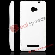 For HTC 8X C620e Case! Stylish S Line Design TPU Gel Case for HTC Windows Phone 8X/Case for HTC 8X C620e