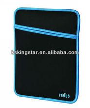 dulable washable neoprene sleeve for tablet