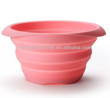 Disney Approved Factory 100% Food Grade Collapsible Silicone Mixing Bowl