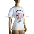 2013 sublimação atacado t- shirt/branco para o desgaste ocasional