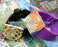 custom stamp wrist watch