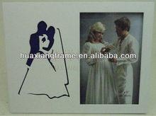 2013 nuevo diseño MDF de madera marco de fotos de la boda de artículos