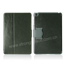Lichi Pattern Magnetic Flip Belt Clip Case for iPad Mini