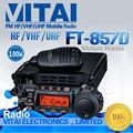 Yaesu ft-857d 100% marca original novo 100 watt transmissor fm