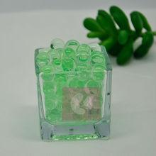 Green crystal soil/ water beads/gel pearls