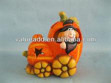 ceramic halloween pumpkin
